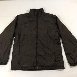 Columbia brown jacket women size large